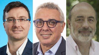 Los intendentes Lucas Ghi (Morón), Julio Zamora (Tigre) y Ricardo Curutchet (Marcos Paz), del Frente de Todos, publican cuánto ganan en la web.