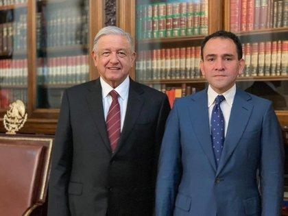 El secretario de Hacienda, Arturo Herrera, dio positivo a coronavirus y pudo haber contagiado a López Obrador (Foto: Archivo)