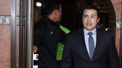 Tony Hernández, el hermano del presidente de Honduras que fue declarado culpable de narcotráfico a gran escala en Nueva York en 2019 (AP)
