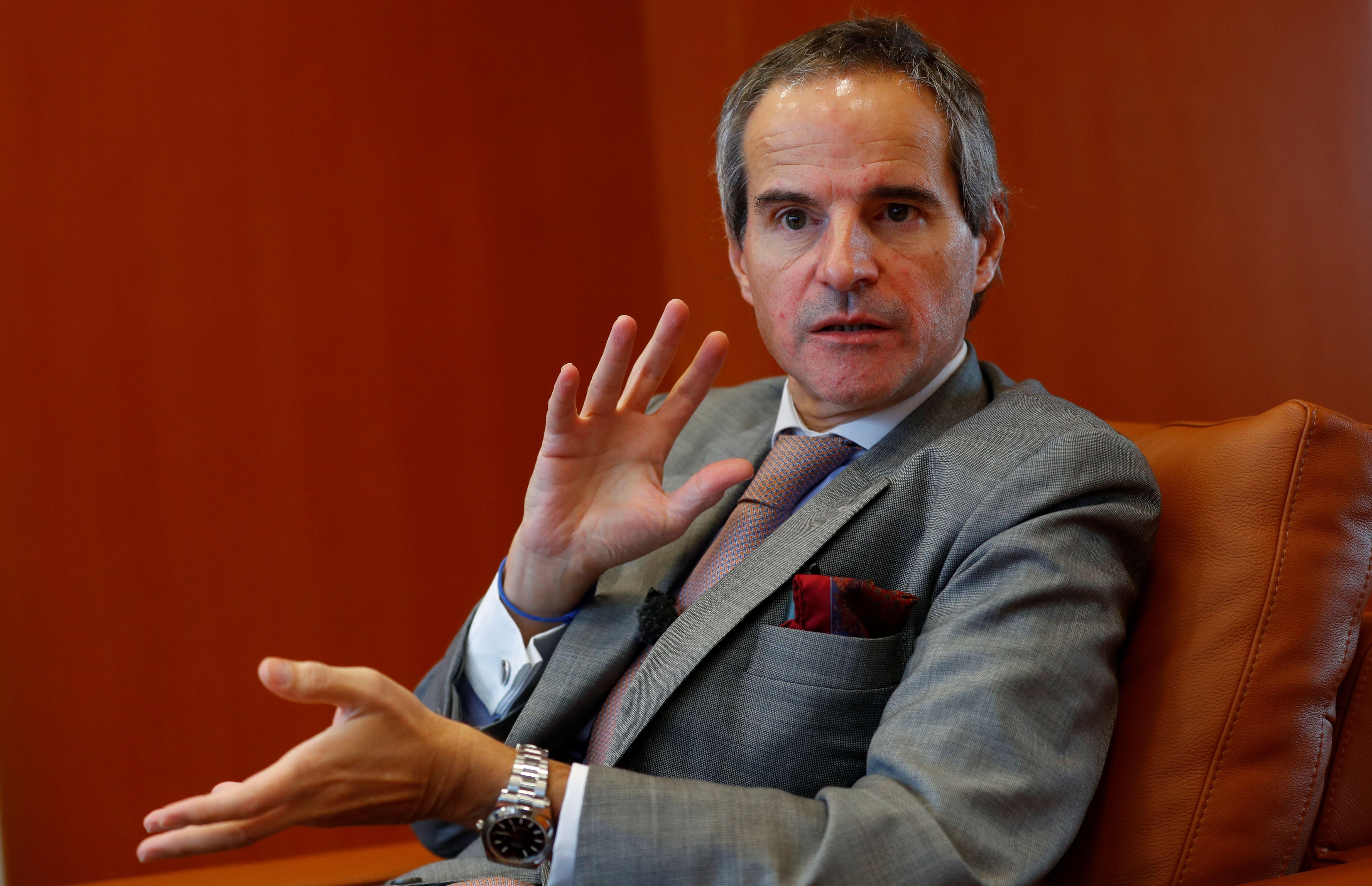 El diplomático argentino y experto en cuestiones nucleares Rafael, Grossi poco después de asumir la secretaría general del OIEA (REUTERS/Leonhard Foeger)