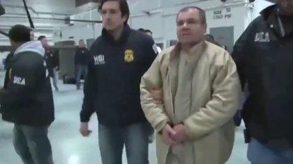 El narcotraficante durante el juicio (Foto: Archivo)