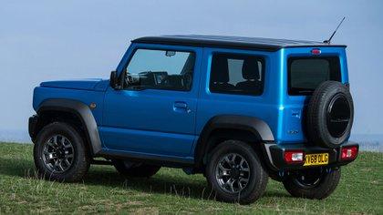 La gran capacidad todoterreno es una de sus principales características (Suzuki)