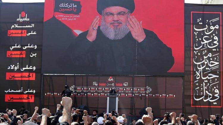 Hassan Nasrallah, líder de Hezbollah (REUTERS/Aziz Taher)
