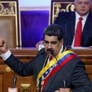 Venezuela's President Nicolas Maduro delivers his annual state of the nation speech during a special session of the National Constituent Assembly, in Caracas, Venezuela January 14, 2020. REUTERS/Manaure Quintero