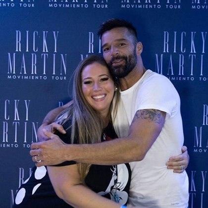 Mar Tarrés y Ricky Martin  (Instagram)