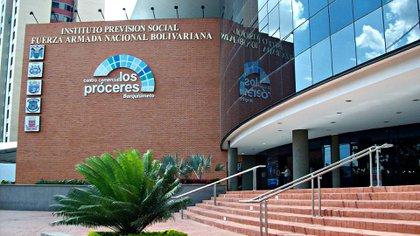 Sede del Instituto de Previsión Social de los militares en Caracas