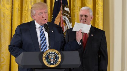 Donald Trump anunció que renegociará el NAFTA (AFP)