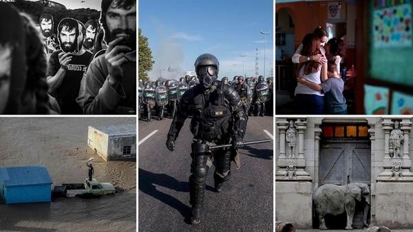 La exhibición comprende 176 imágenes realizadas por 90 fotógrafos de todo el país