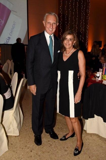 Jorge Neuss y Silvia Saravia de Neuss