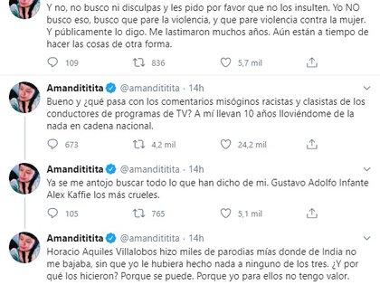 La cantante se pronunció contra los ataques hacia su persona (Foto: Twitter)