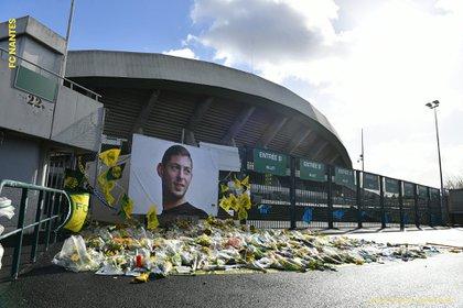 En Nantes todavía lamentan el fallecimiento de Emiliano Sala.