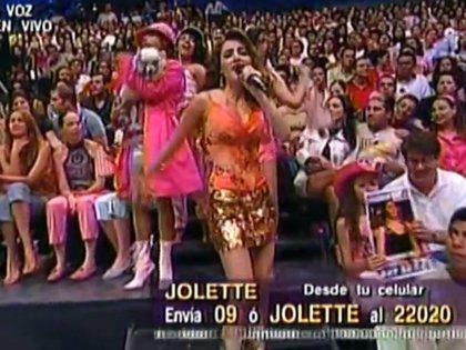 jolette saltó a la fama en 2005, en La Academia