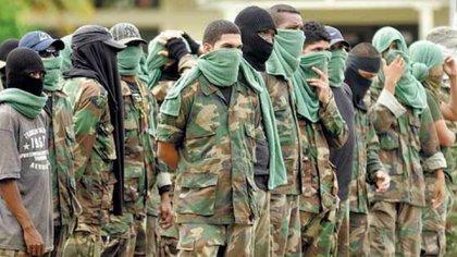 Las Autodefensas Gaitanistas de Colombia o Clan del Golfo son otra estructura armada con presencia nacional que disputa control de territorio con el ELN y las disidencias de las FARC y que ahora también estaría enfrentada con la Segunda Marquetalia de Márquez y Santrich.