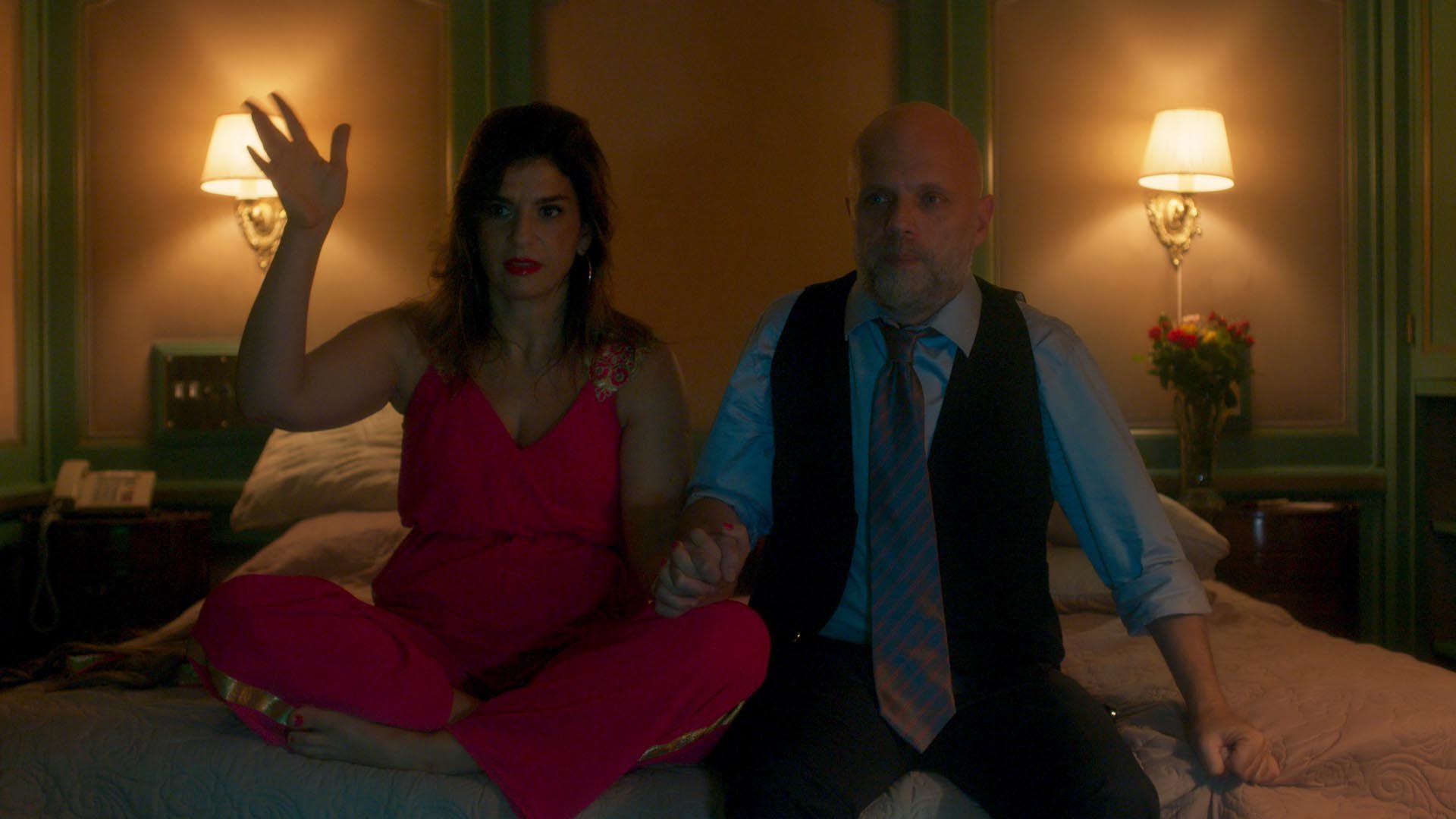 """Dalia Gutmann y Sebastián Wainraich en """"Casi Feliz"""""""
