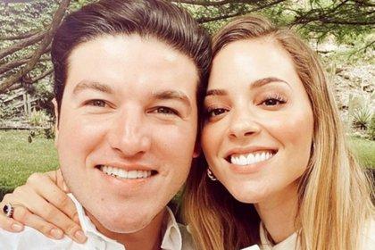 Samuel García y Mariana Rodríguez Cantú se casaron en Marzo y subían imágenes constantemente (Foto: Twitter@ComoHilodeMieda)