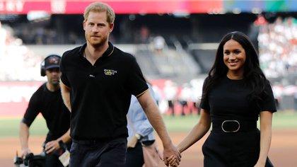 Los duques de Sussex    (AFP)