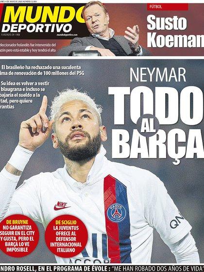 La tapa de Mundo Deportivo que entusiasma a los aficionados del Barcelona