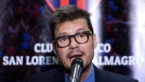 Marcelo Tinelli denunció amenazas a sus hijos por la situación de San Lorenzo