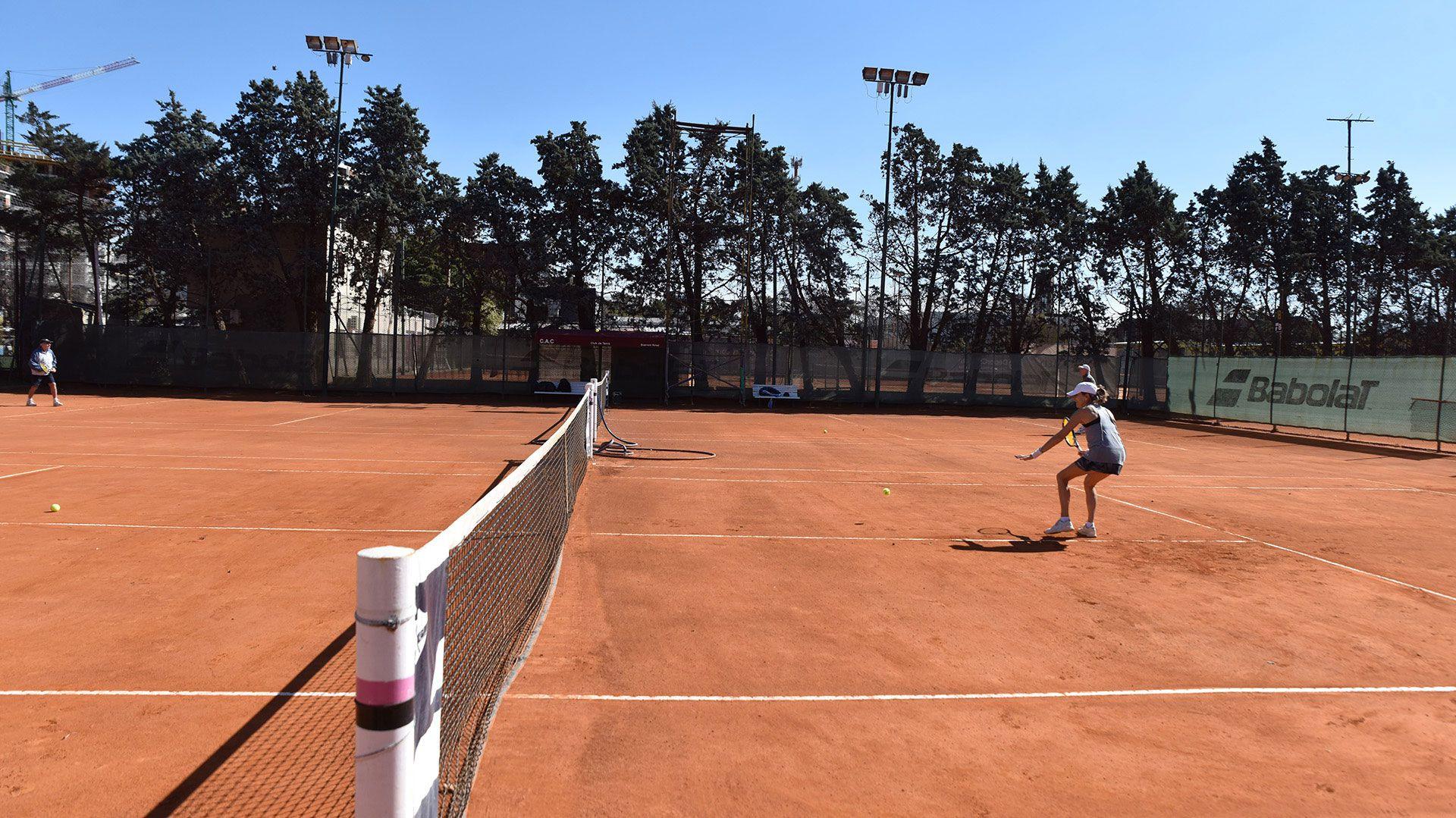 Reapertura clubes de tenis