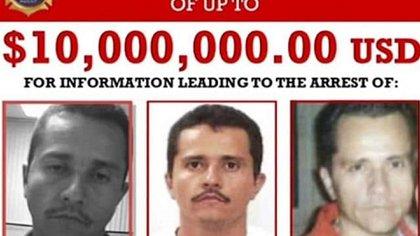 El Mencho es buscado en EEUU y la DEA ofrece 10 millones de dólares por datos que lleven a su arresto (Foto: Twitter@AlperN007)