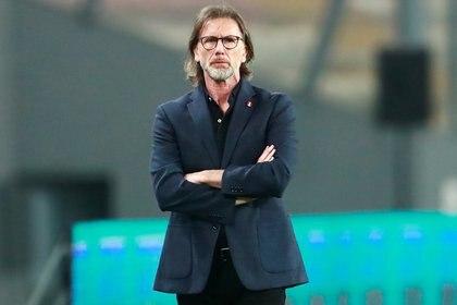 Ricardo Gareca finalmente ha citado a Gianluca Lapadula a la selección de Perú (REUTERS)