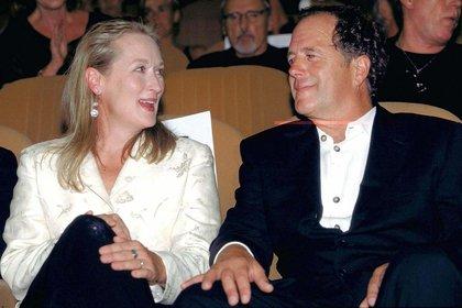 Meryl Streep u Don Gummer, casados hace más de 40 años (Crédito: Shutterstock)