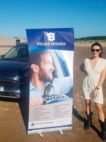 Rocio Kalrnok, Conductora IP  Durante  Costa Fashion Experience