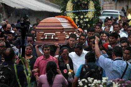 """El funeral de """"Pancho Cayagua"""", fundador de la Unión Tepito (Foto: Archivo)"""