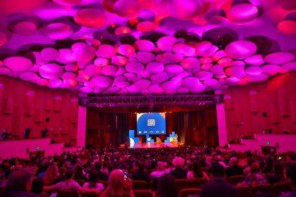 Gala de Apertura del 34ª Festival Internacional de Cine de Mar del Plata, en el Teatro Auditorium