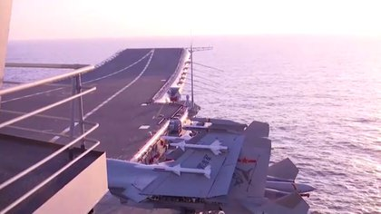 (Reuters TV via CCTV/Captura de pantalla)