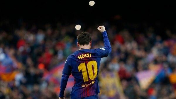 Messi llegó a los 600 goles como profesional
