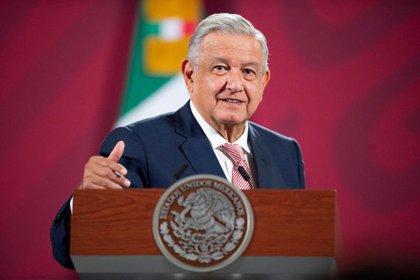 "Andrés Manuel López Obrador en rueda de prensa ""Mañana"" (Foto: Presidencia)"