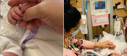 Hannah sufrió neumonía y permanece internada desde el 7 de enero (Foto: Instagram de Wendolee)