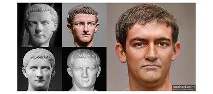 """Calígula murió asesinado a los 28 años. Su mirada era """"penetrante y con un aire lo suficientemente salvaje para torturar"""". (Crédito: Daniel Voshart)"""