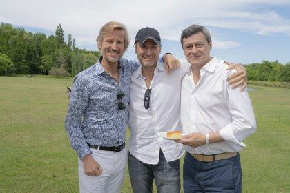 Francisco y Juan Bosch con Eduardo de Royere