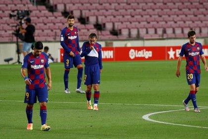 El Barcelona no ha encontrado su mejor nivele esta temporada, ni con Ernesto Valverde como entrenador ni ahora con Quique Setién (Reuetrs)
