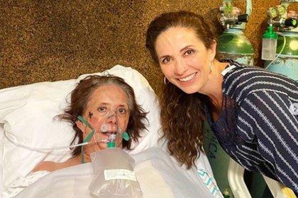 La primera actriz ya se encuentra en su casa y recuperándose satisfactoriamente (Foto: Instragram @claudiaromoedelman)