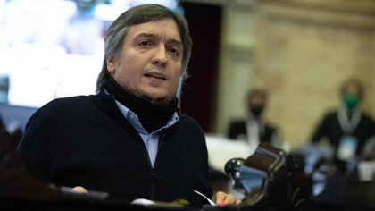 Máximo Kirchner esta vez no dio discurso de cierre