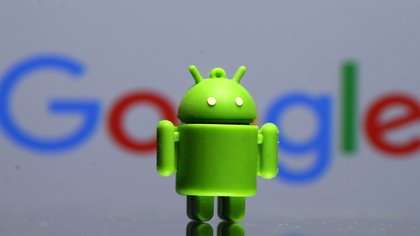 La mascota de Android, impresa en 3D (Reuters)
