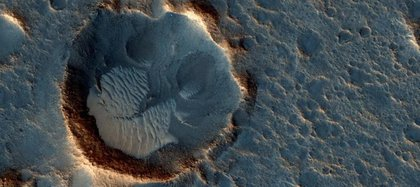 Night temperatures on Mars during winter can reach -80 degrees Celsius