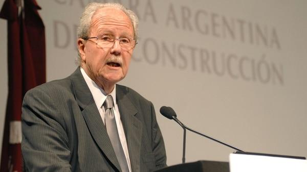 El ex presidente de la Cámara Argentina de la Construcción, Carlos Wagner