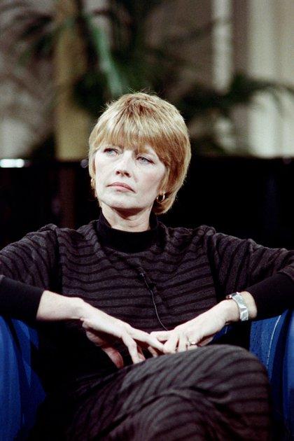 Claire Bretécher en 1987 (Foto: Georges BENDRIHEM / AFP)