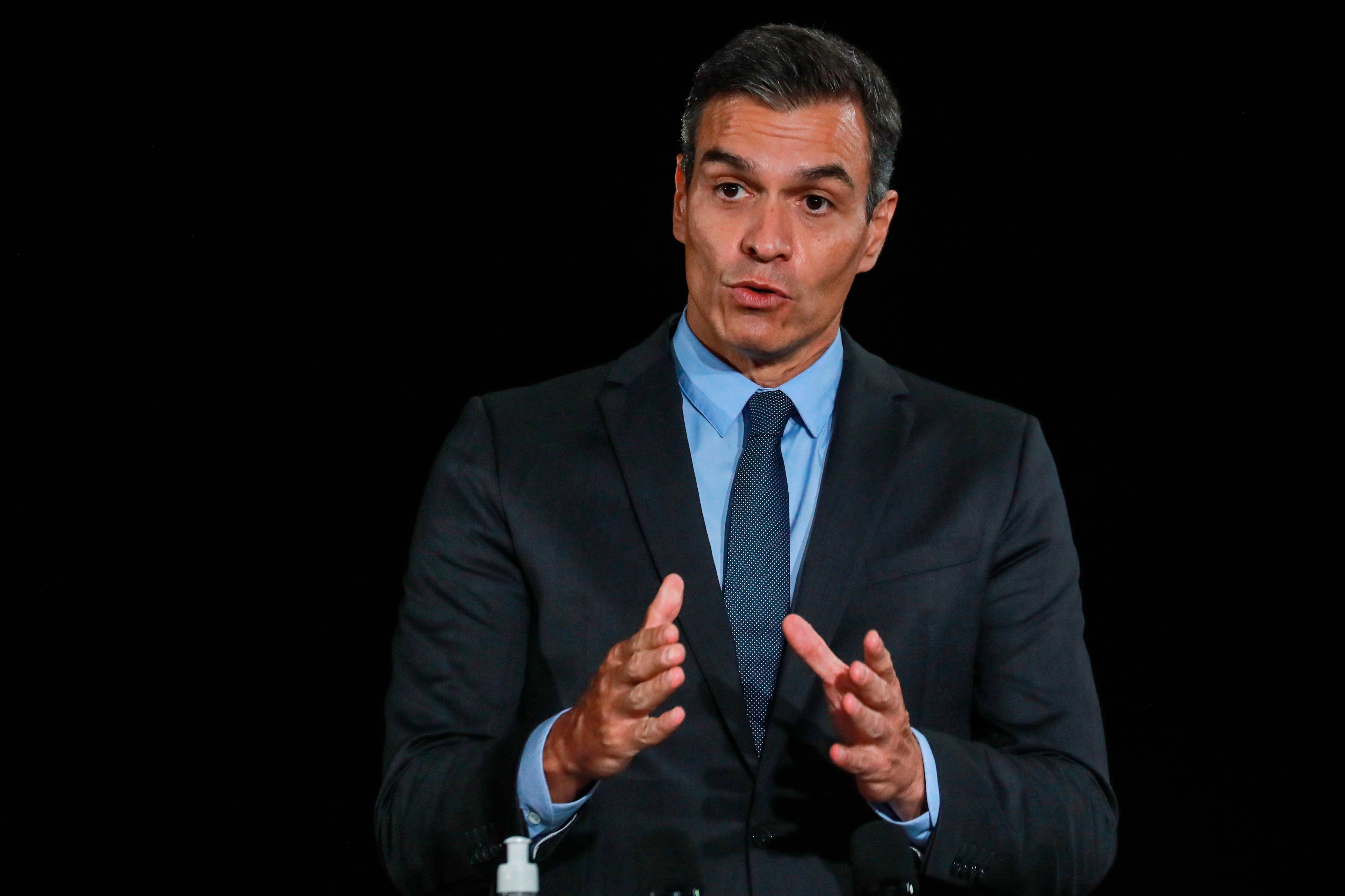 El presidente de España, Pedro Sánchez (EFE/EPA/LUDOVIC MARIN / POOL MAXPPP OUT)