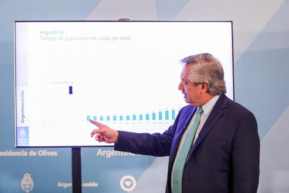 El presidente Alberto Fernández extendió el aislamiento social y preventivo obligatorio hasta el 26 de abril inclusive.