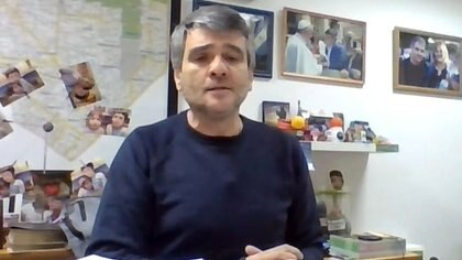 El intendente de Hurlingham, Juan Zabaleta