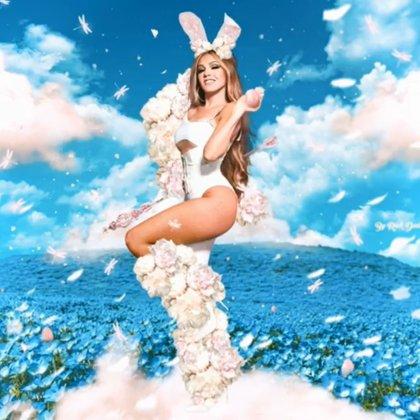 La imagen de Thalía con motivo del Domingo de Pascua (IG: thalia)