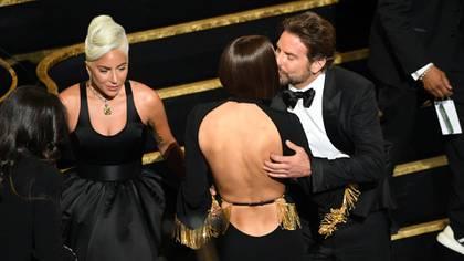 Lady Gaga, Irina Shayk and Bradley Cooper on the Oscars 2019 /AFP