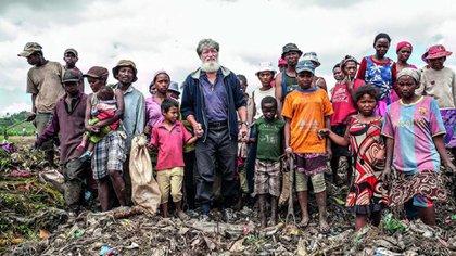 Nació en San Martín, Buenos Aires, hace 68 años: hoy vive su historia en Akamasoa, Madagascar