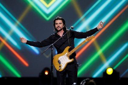El cantante fue homenajeado en un hotel de Las Vegas. (Foto: EFE)