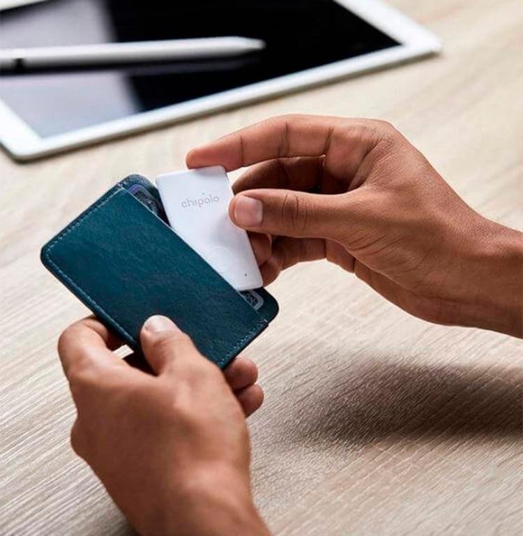 Rastreador para billetera en forma de tarjeta de crédito